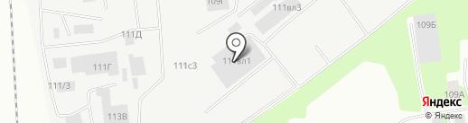 Полимер-Групп на карте Липецка