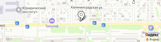 ЛидерАвто на карте Ростова-на-Дону