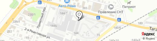Наш бетон на карте Ростова-на-Дону