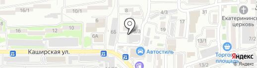 СДЮСШОР №35 им. братьев Самургашевых на карте Ростова-на-Дону