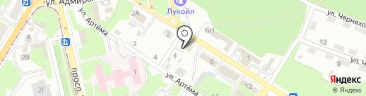 Ковач-С на карте Липецка