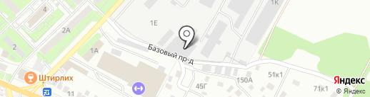 Садовод на карте Липецка