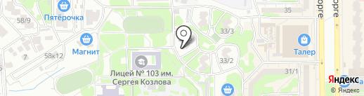 Телеателье на карте Ростова-на-Дону