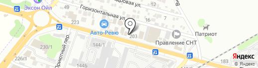 Победа на карте Ростова-на-Дону