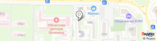 Апельсинка на карте Ростова-на-Дону