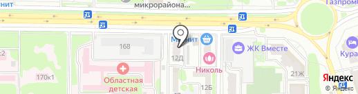 Распечатка на карте Ростова-на-Дону