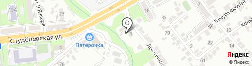 Автоняня на карте Липецка