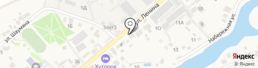 Яна на карте Ленинавана