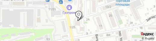 ПЕНАчный на карте Ростова-на-Дону