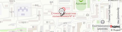 Магазин разливных напитков на карте Ростова-на-Дону