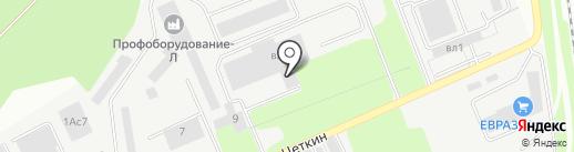 Унибоб-Л на карте Липецка