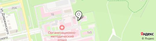 Похоронный дом на карте Липецка