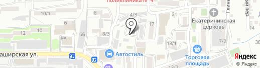 Li Lu на карте Ростова-на-Дону