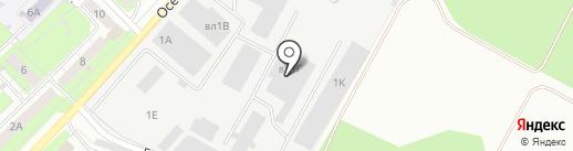 Мой Мясной на карте Липецка