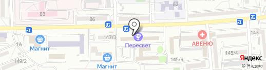 Альтернатива на карте Ростова-на-Дону