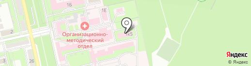 Липецкий областной онкологический диспансер на карте Липецка