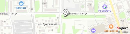 555 на карте Ростова-на-Дону