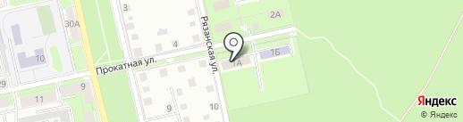 Сухоборье на карте Липецка