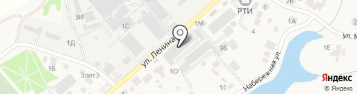 Новация на карте Ленинавана