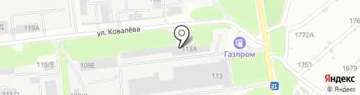 Промстангрупп на карте Липецка