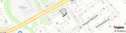 MahaON на карте Липецка