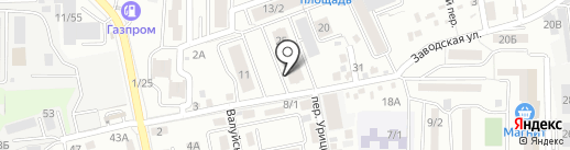 Комстрой, АСО, строящиеся объекты на карте Ростова-на-Дону
