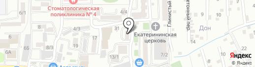 Комсервис на карте Ростова-на-Дону