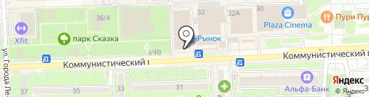 Очковая КОБРА на карте Ростова-на-Дону