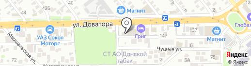 АлмазКор на карте Ростова-на-Дону