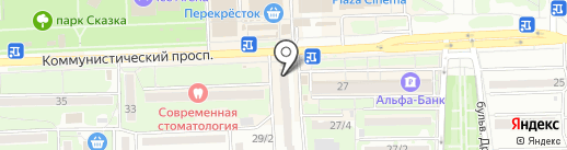 Союз автошкол на карте Ростова-на-Дону