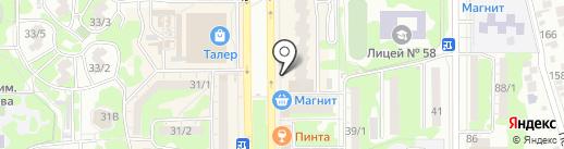 Кафе-шашлычная на карте Ростова-на-Дону