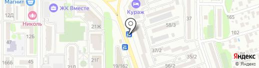 Донской ломбард, ЗАО на карте Ростова-на-Дону
