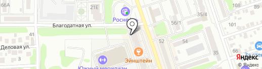 Эрудит на карте Ростова-на-Дону