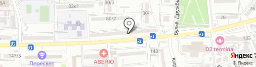 A-des на карте Ростова-на-Дону