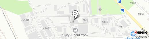 Труб Комплект на карте Липецка