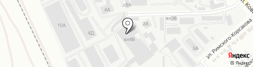Компания ЦентрСнаб на карте Липецка
