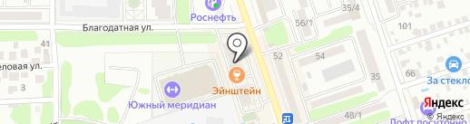 Наш ди Зайн на карте Ростова-на-Дону