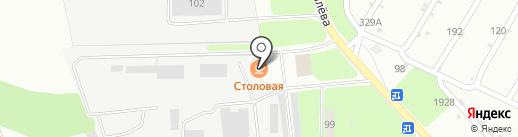 Аверс на карте Липецка