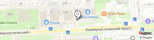 ISTERIKA на карте Ростова-на-Дону