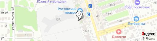 Сладкоешка на карте Ростова-на-Дону