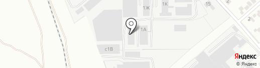 Липецк-Груз на карте Липецка
