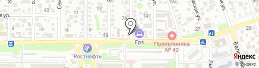 Свежая партия на карте Ростова-на-Дону