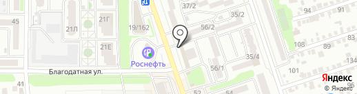 НЕ РЫБА на карте Ростова-на-Дону