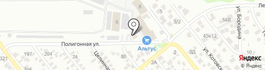 МК-М на карте Ростова-на-Дону