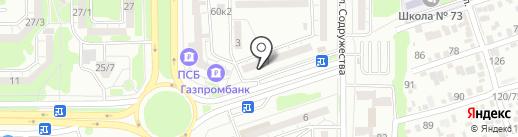ФАС на карте Ростова-на-Дону