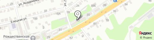 Ритуал-Сервис на карте Липецка