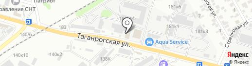 РЭБИ на карте Ростова-на-Дону