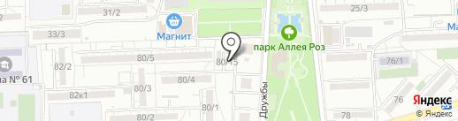 СТИМУЛ на карте Ростова-на-Дону