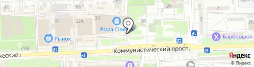 Santorini Cafe на карте Ростова-на-Дону