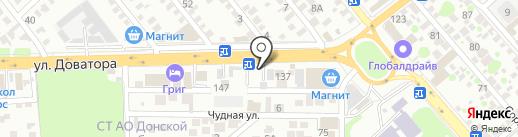 Мир грузовика на карте Ростова-на-Дону